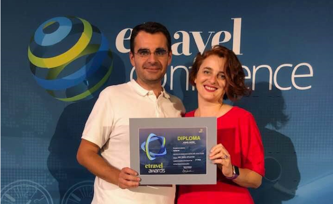 Toura App awarded at eTravel Awards 2018